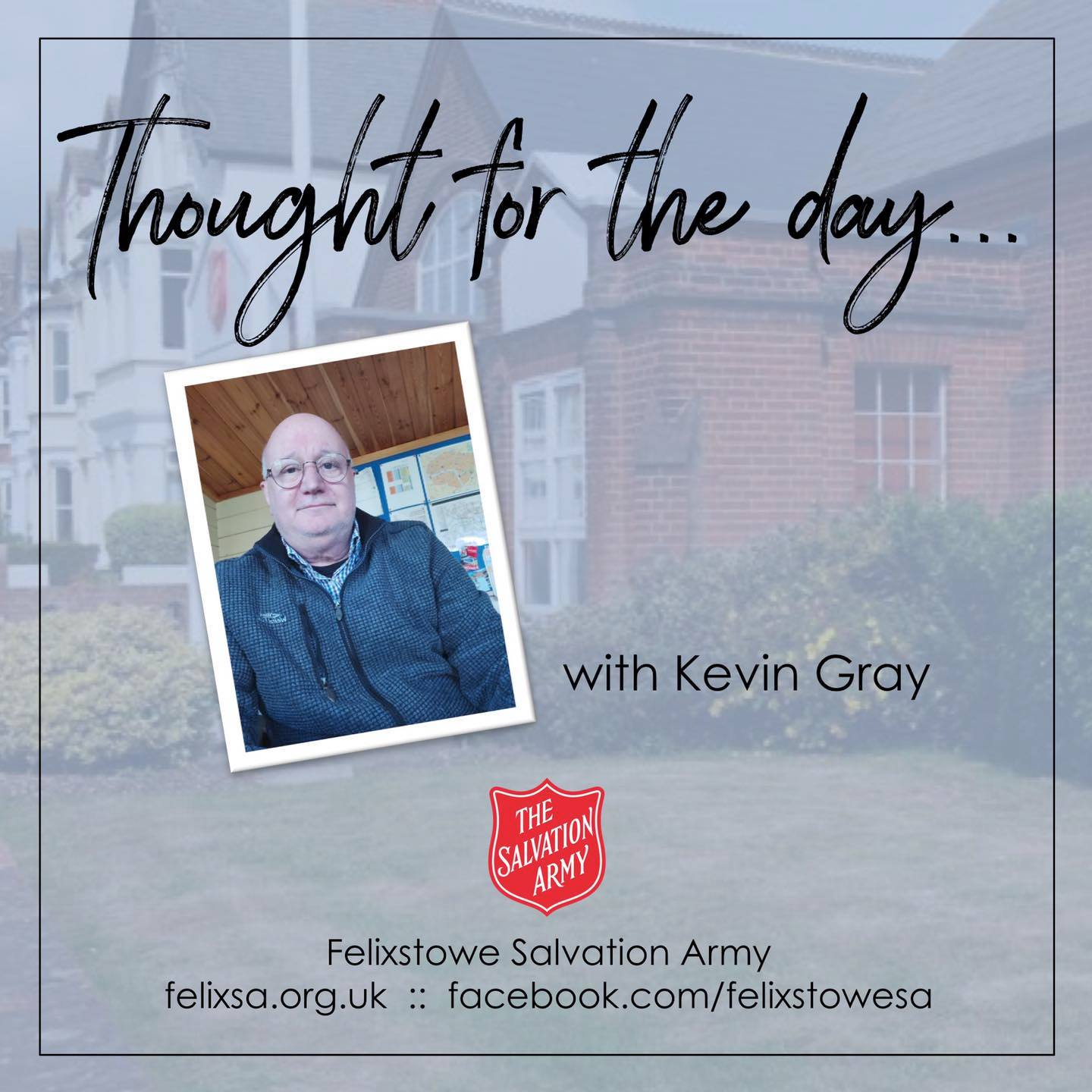 Thought for the Day with Kevin gray
