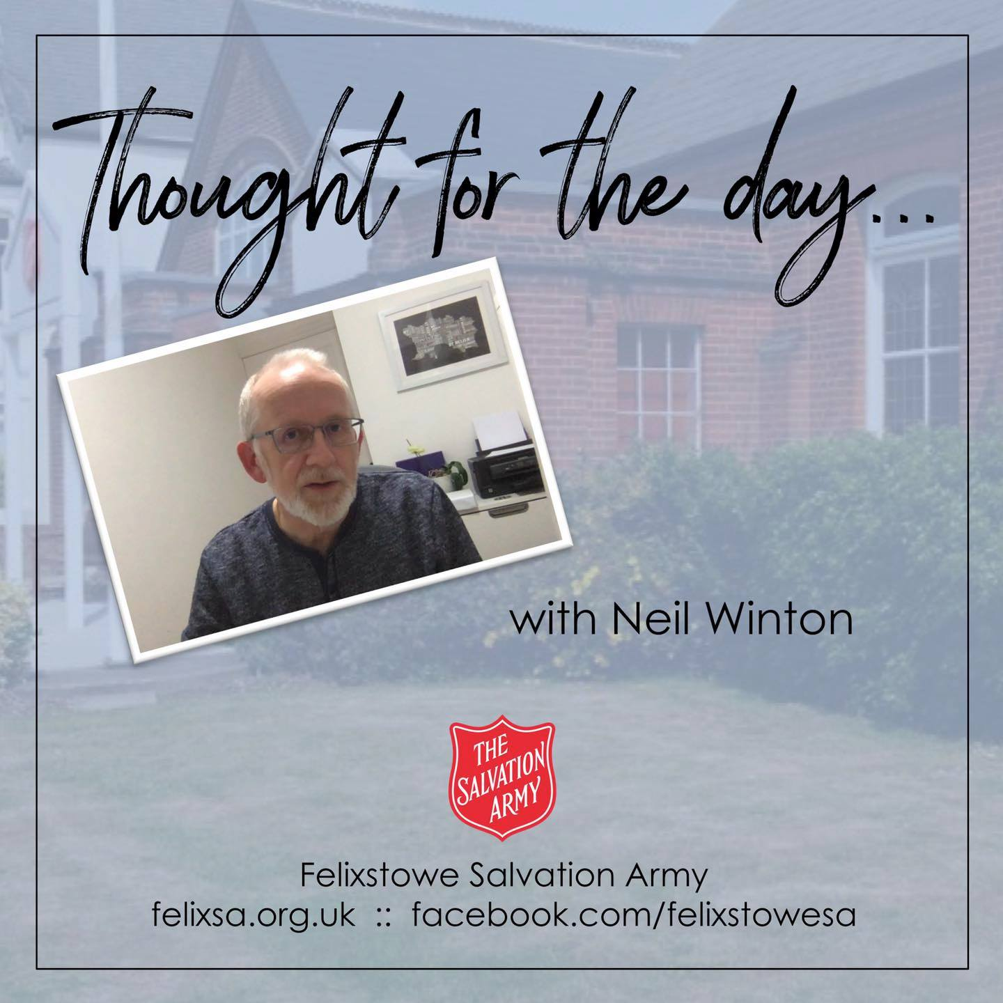 Thought for the Day with Neil Winton
