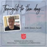 Thought for the Day with Simon Scott