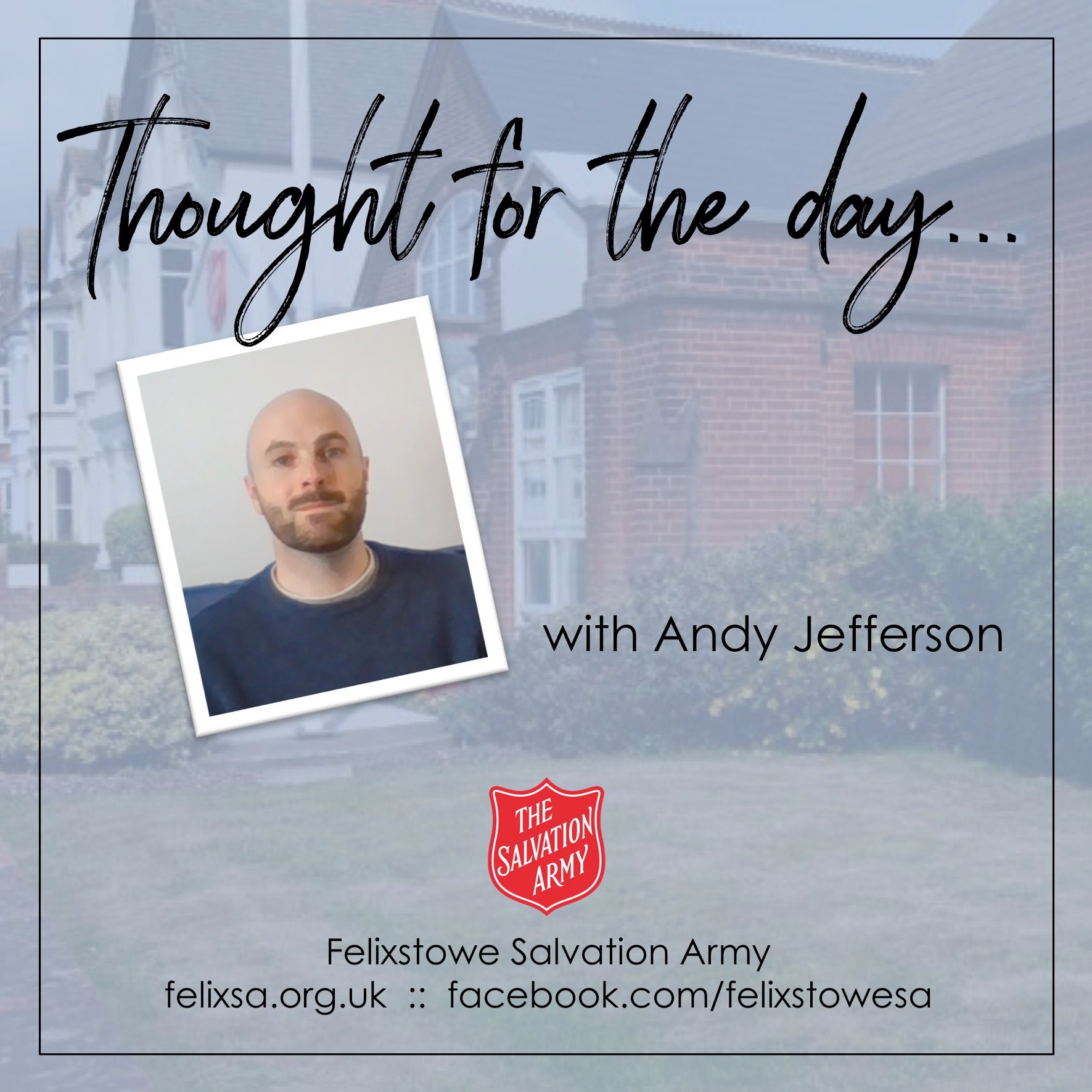 Thought for the Day with Andy Jefferson